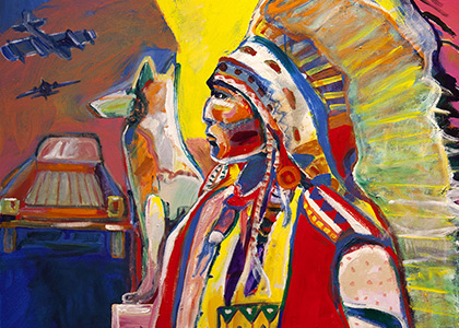 Last Chief at Standing Rock (The Book of Mark 1:45)
