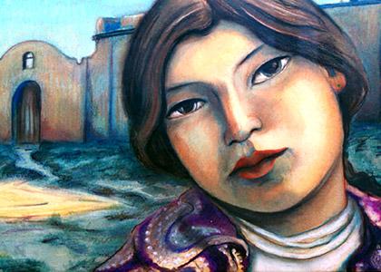 Taos Indian Girl
