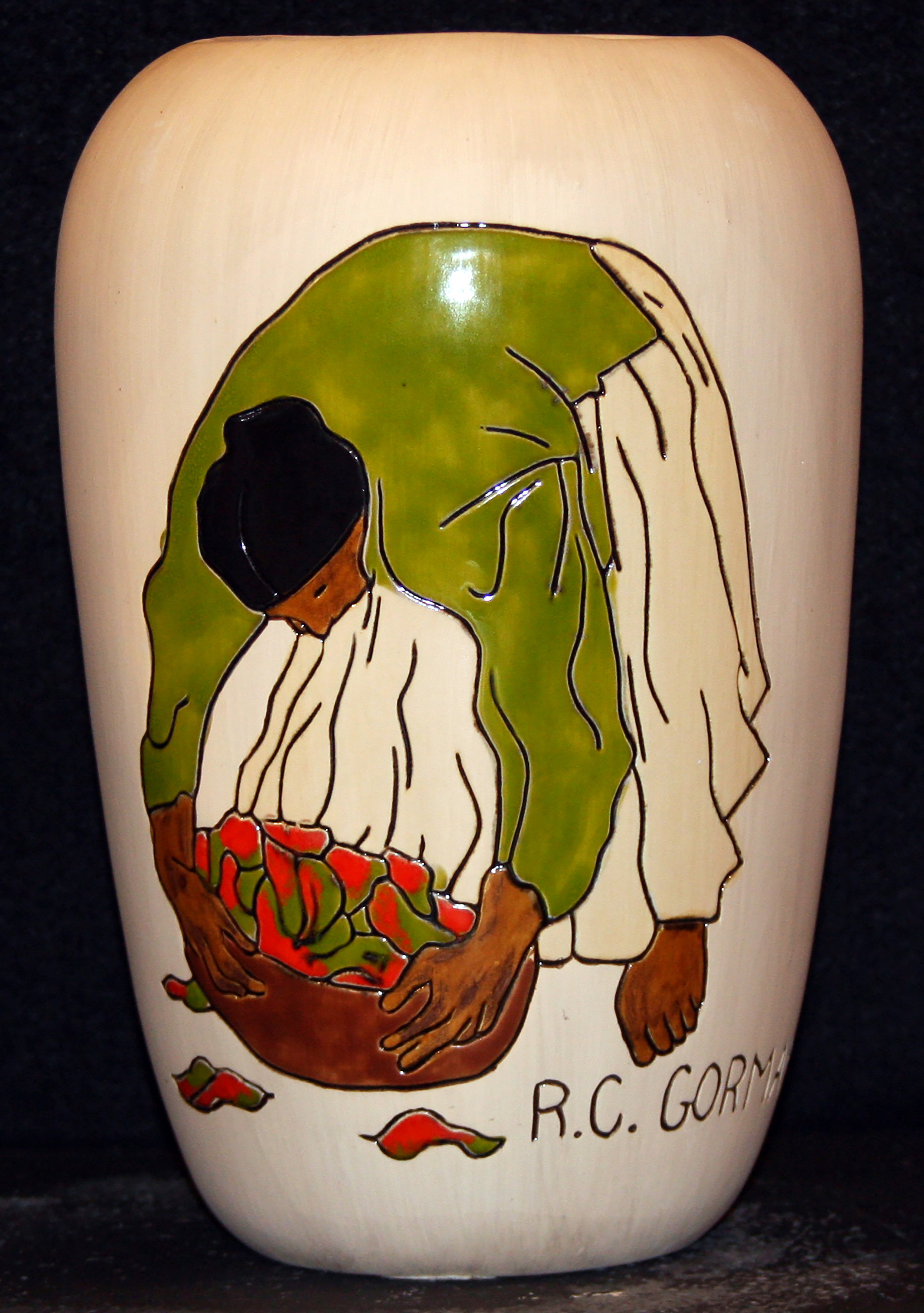 Michael mccormick gallery taos new mexico chilies ceramic dailygadgetfo Image collections