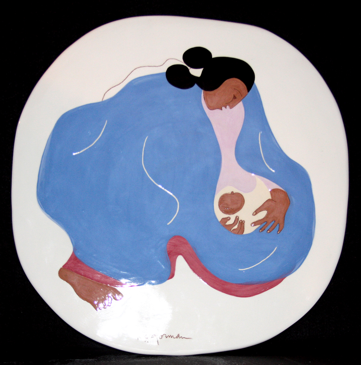 Michael mccormick gallery taos new mexico navajo woman and child dailygadgetfo Image collections