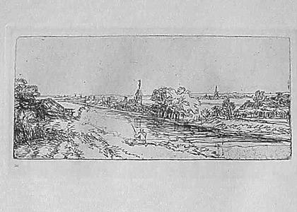 Le Paysage au Canal