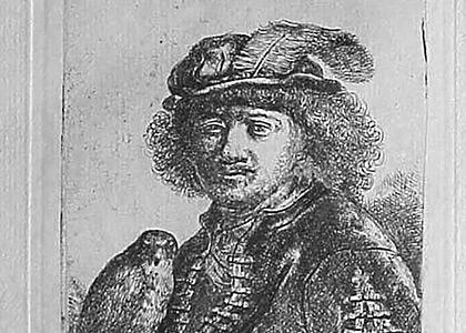 Rembrandt a Loiseau de Proie