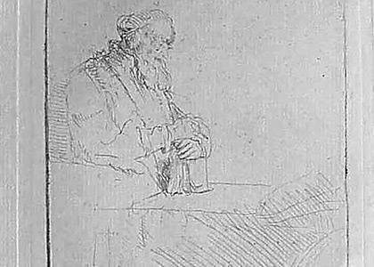 Philosophe en Meditation