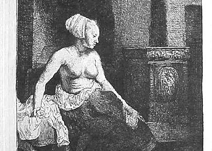 Le Femme Devant le Poele
