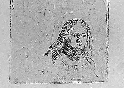 Portrait of a Woman Closeup