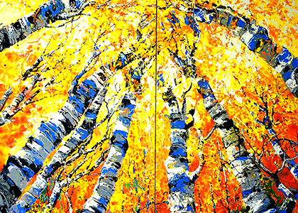 Bears View (Diptych)